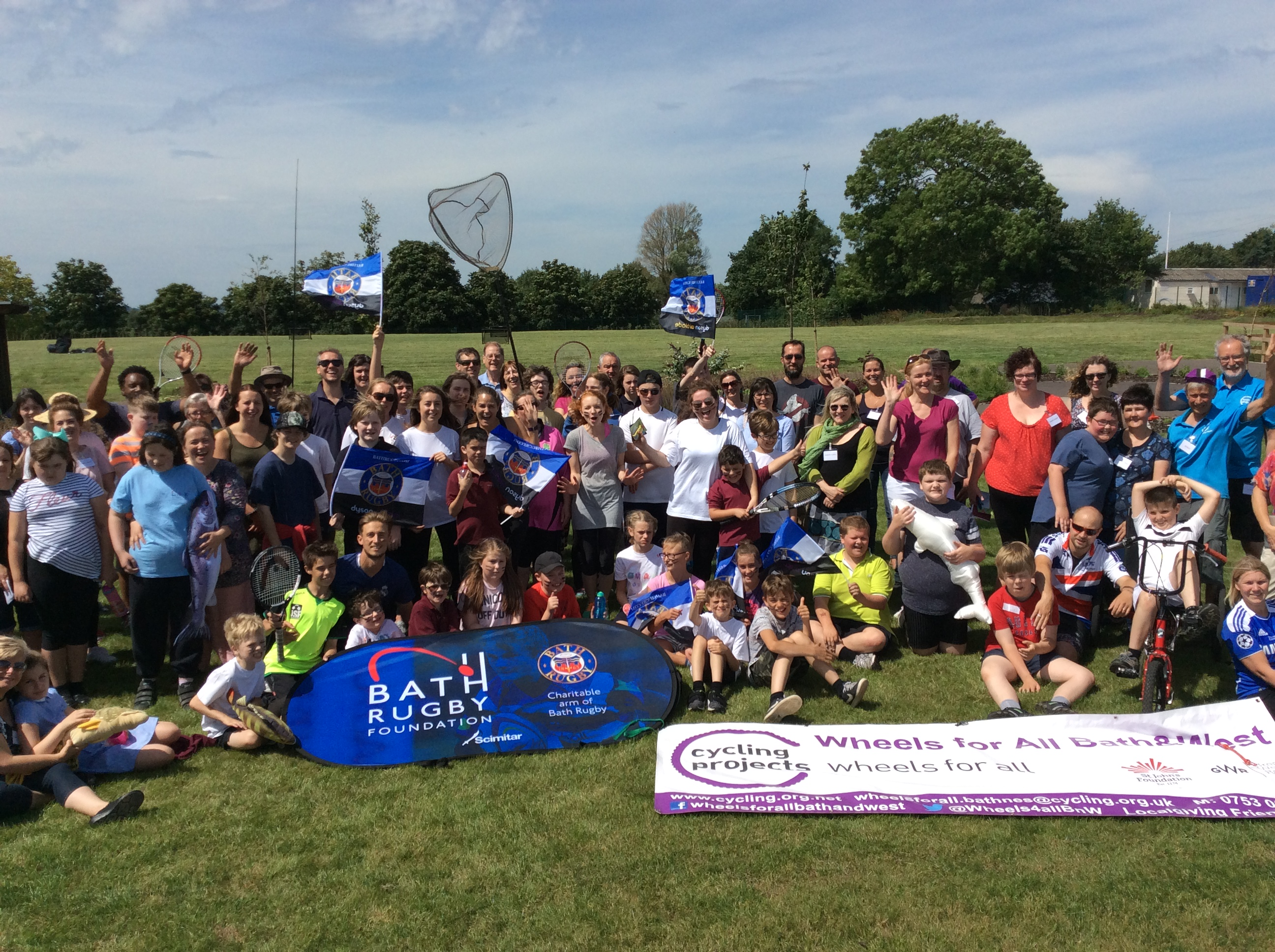 The Mendip School Sports Day