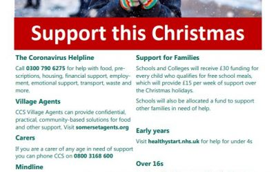 Family support this Christmas