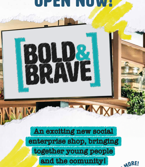 Bold and Brave Pop-up Shop